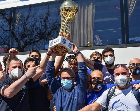 Napoli vince la Coppa Italia di A2